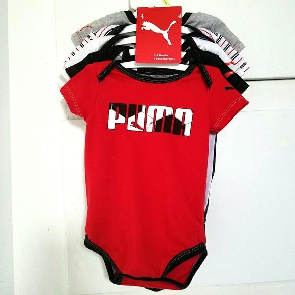 e16eba5794db Baby Puma onesies (set of 5). M 5ac90d5f00450f65c89dfed3
